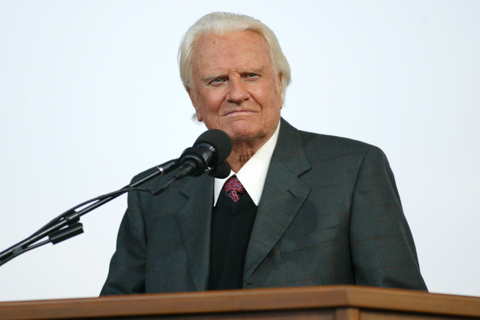 Billy Graham warns of fire and brimstone in 'final' book. Be wary instead of the smelly hell