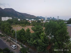 View from my apartment balcony
